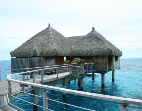 Honeymoon in a Bora Bora overwater bungalow