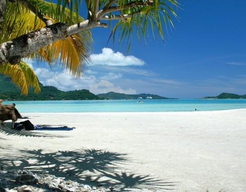 Pristine Bora Bora Beach